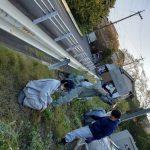 早朝の地域清掃 ★広島で焼付塗装ならムラカワ★