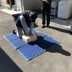AED使用方法講習会 ★広島で焼付塗装ならムラカワ★