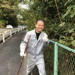 地域清掃‼ ★広島で焼付塗装ならムラカワ★